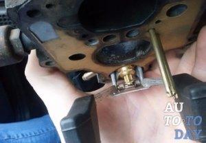 Замена игольчатого клапана