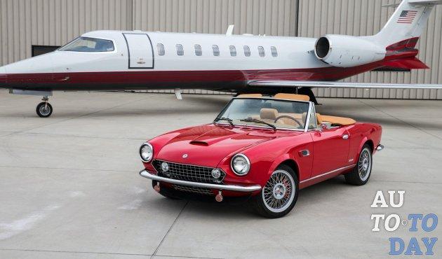 Классика, захватывающая дух: электрический Fiat 124 Spider продаётся от 89 995 долларов США
