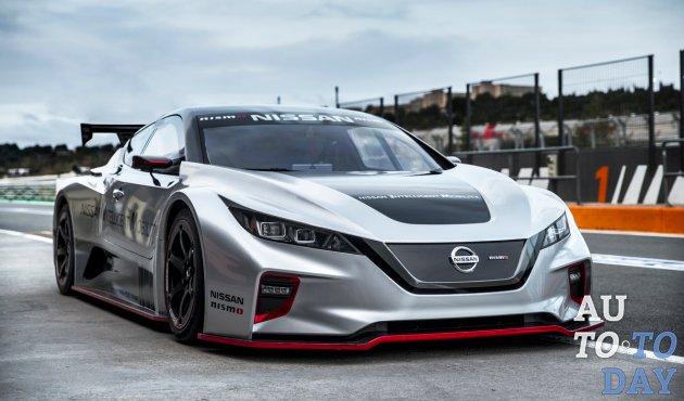Nissan впервые представляет в Европе LEAF NISMO RC