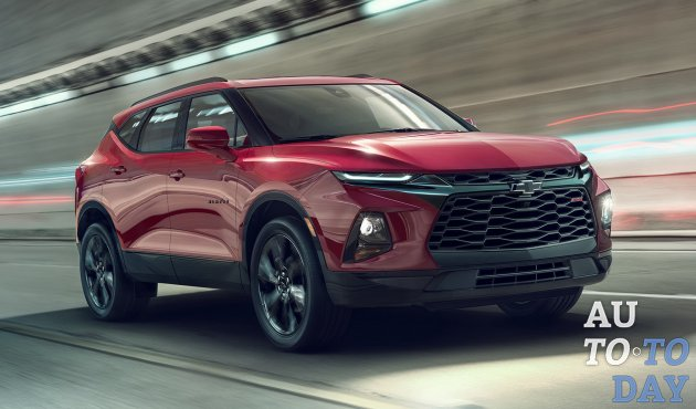 EPA опубликовало показатели топливной эффективности Chevrolet Blazer