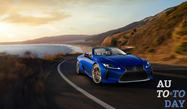 Первый Lexus LC500 Convertible Inspiration Series выставлен за 2 миллиона долларов