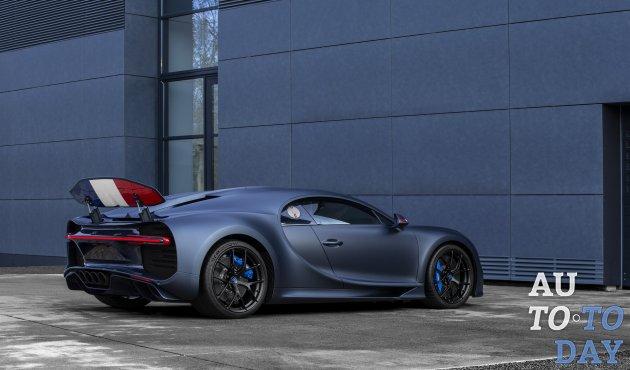 Осталось менее 100 эксклюзивных авто: Bugatti заканчивает производство Chiron в следующем году