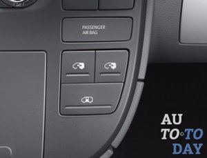Кнопка открытия дверей авто