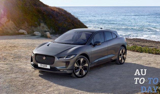 Jaguar I-Pace стал абсолютным лидером по регистрациям новых электрокаров в Украине за 2019 год
