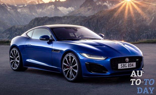 Спортивное купе Jaguar F-Type обновилось