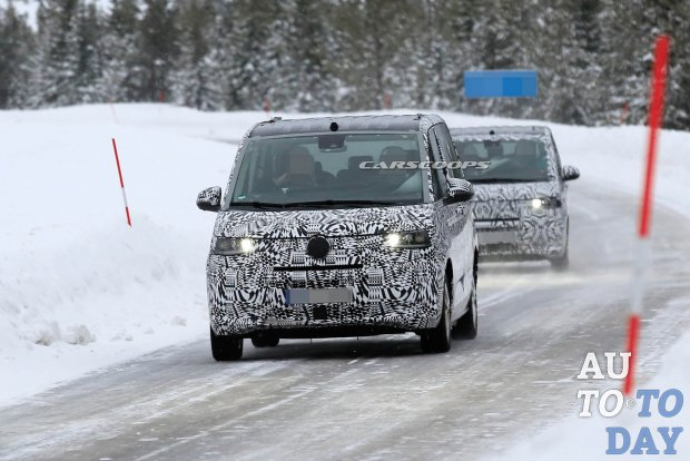 Новый Volkswagen Transporter получит гибридную версию