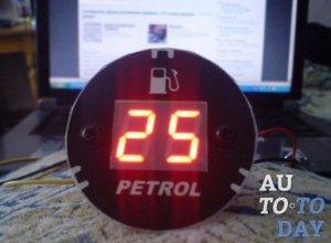 Электронный указатель топлива