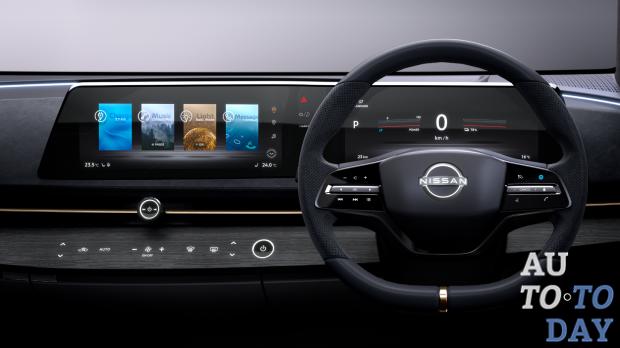 Nissan отказался от больших экранов-планшетов