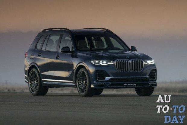 Самый большой кроссовер BMW: представлена спортивная модификация от Alpina
