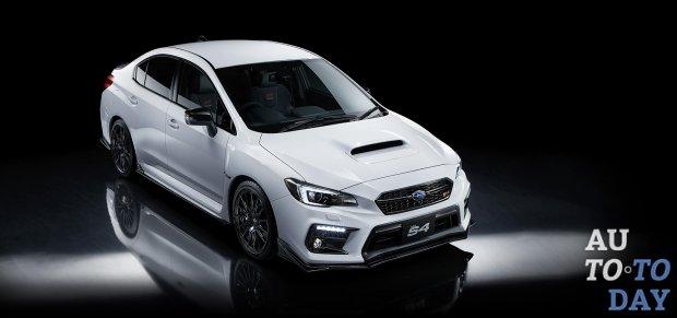 Subaru представила специальную серию WRX S4 STI Sport