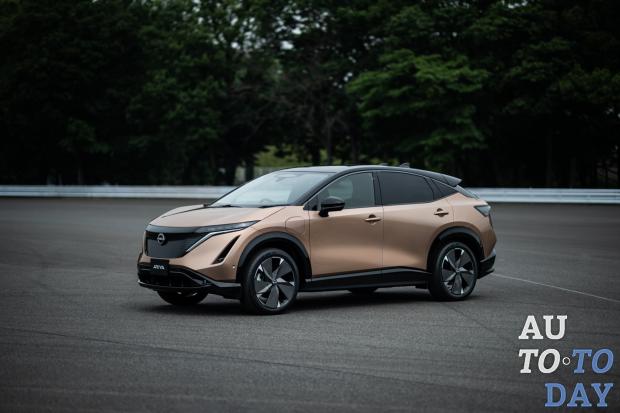 Nissan представил новый электромобиль - кроссовер Ariya