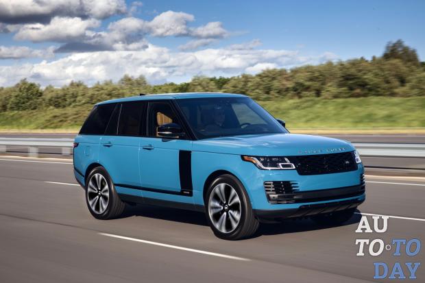 Range Rover получил новую силовую установку
