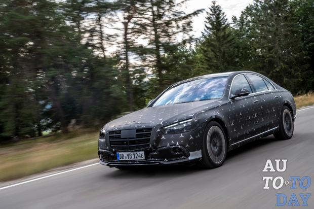 Mercedes-Benz S-Class получит уникальные системы безопасности