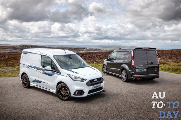 Ford Transit Custom и Transit Connect получили спортивные версии