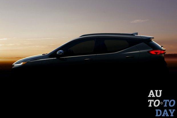 Chevrolet показал профиль нового кроссовера Bolt