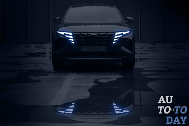 Новый Hyundai Tucson показался на официальных снимках