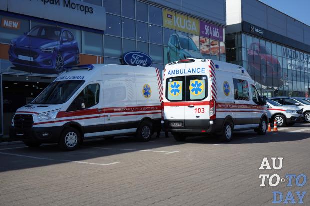 VIDI представила обновленную «скорую» собственного производства на базе Ford Transit
