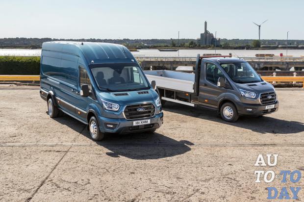 Ford объявил о начале выпуска новой 5-тонной модификации Transit