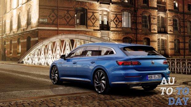 Обновленный Volkswagen Arteon получил два новых двигателя