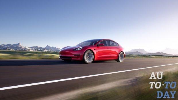 Tesla официально представила обновленную Model 3
