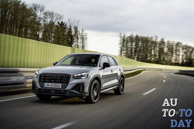 Audi обновил свой самый компактный кроссовер Q2