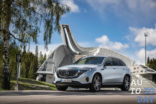Первый полностью электрический Mercedes-Benz скоро прибудет в Украину