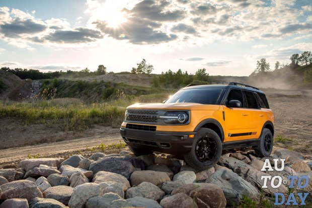 Ford запустил производство компактного кроссовера Bronco Sport