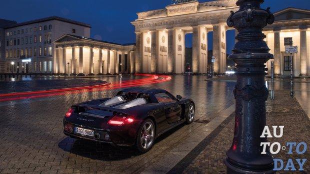 Porsche Carrera GT отмечает 20-летие