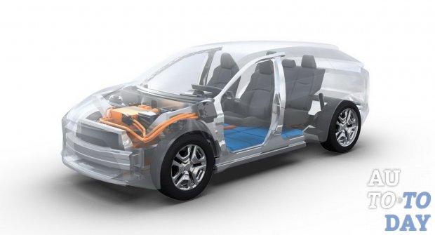 Toyota анонсирует новый электрический кроссовер