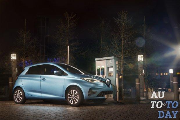 Renault Zoe стал самым продаваемым электромобилем в Европе
