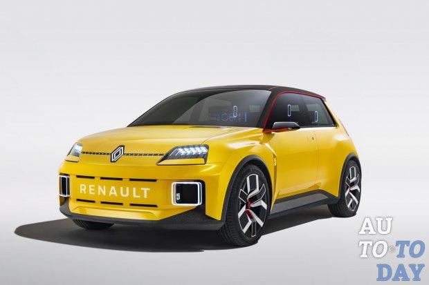 Renault 5 возвращается в образе компактного электромобиля