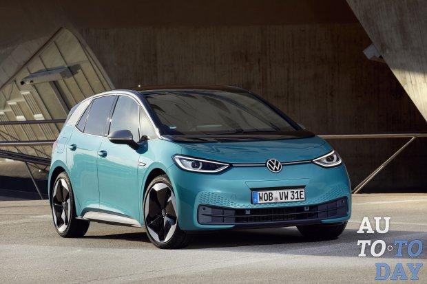Новый электромобиль от Volkswagen стал вторым по полуярности авто в Европе