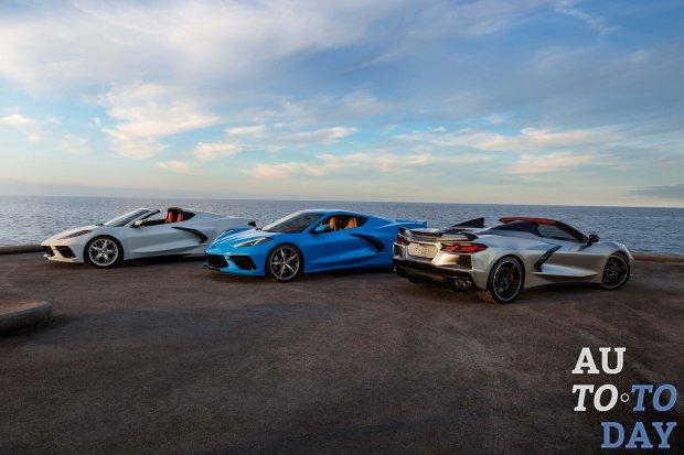 Chevrolet останавливает выпуск суперкара C8 Corvette