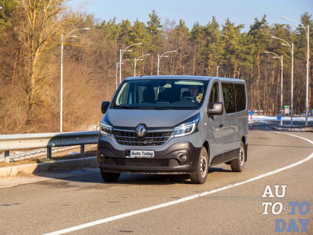 Тест-драйв Renault Trafic: Французский межгород