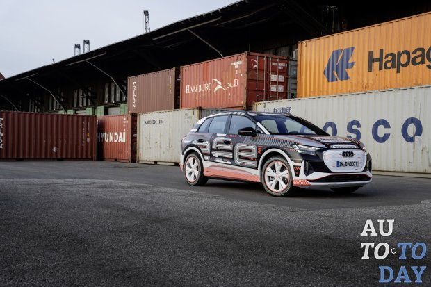 Audi запускает производство электрического кроссовера Q4 E-Tron