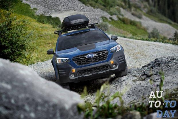 Subaru представила спецверсию Outback для бездорожья