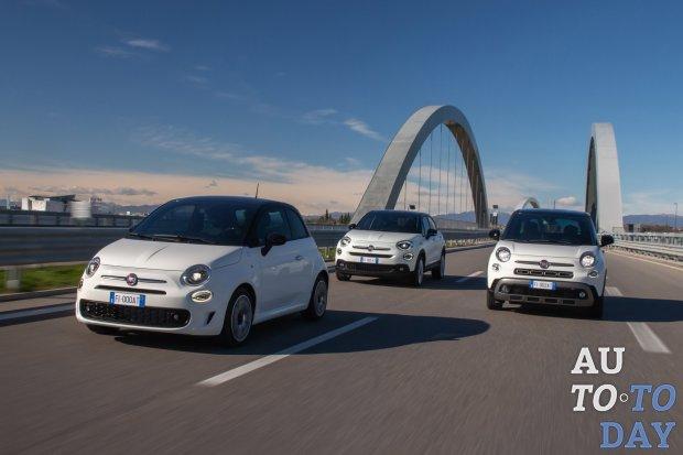 Fiat совместно с Google создал спецверсии трех машин