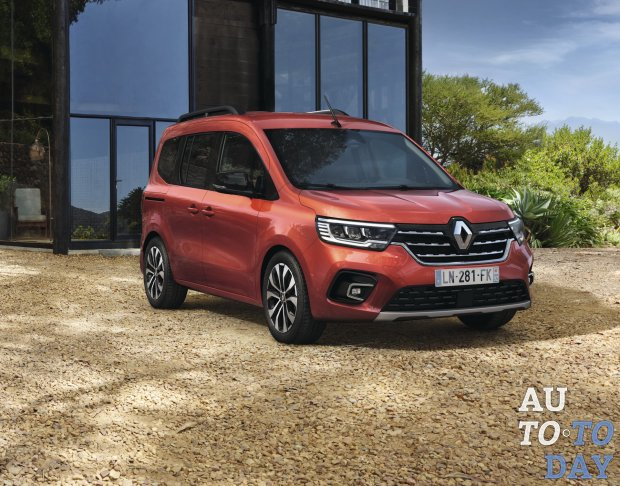 Renault официально предстаил новый Kangoo, который сменил концепцию