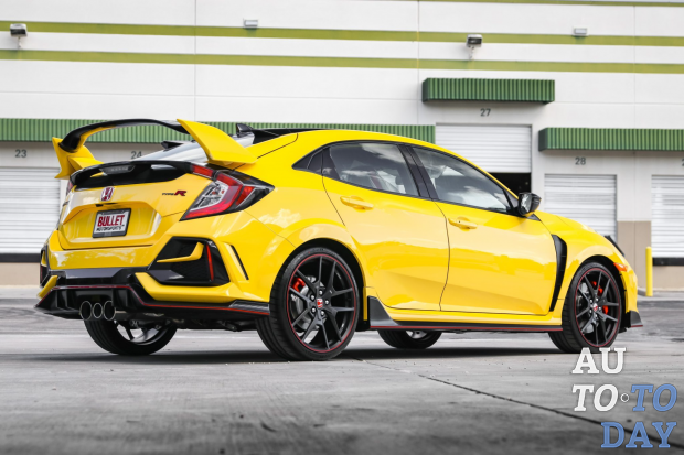 Honda Civic Type R Limited Edition пустили с аукциона