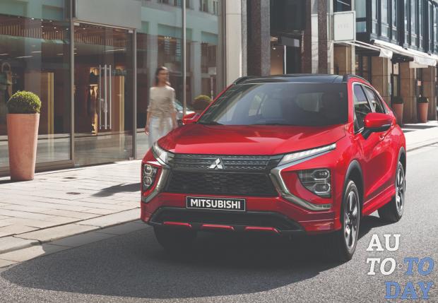 В Украине стартовали продажи обновленного Mitsubishi Eclipse Cross