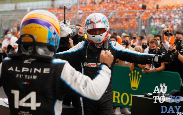 Команда Alpine F1 Team одержала первую победу в Формуле-1