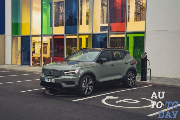 В Volvo рассказали о специфике электромобиля XC40 Recharge для украинского рынка
