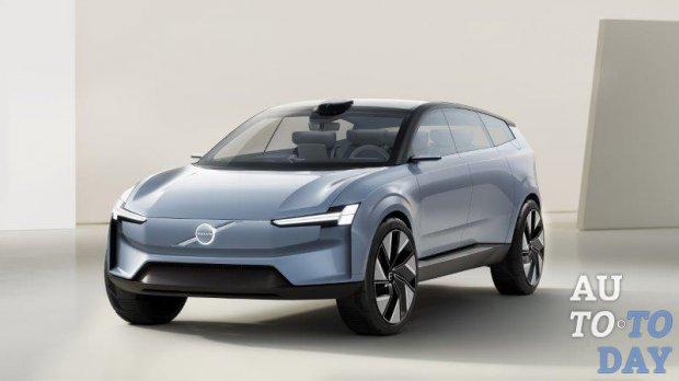 В Volvo показали инновационный прототип Concept Recharge