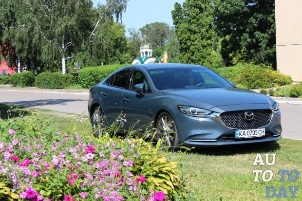 Тест-драйв Mazda 6 Turbo: Забытые ощущения
