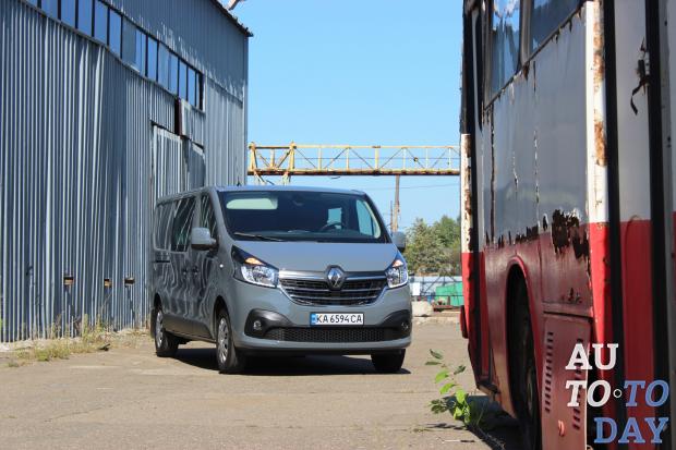 Тест-драйв Renault Trafic: И вашим, и нашим