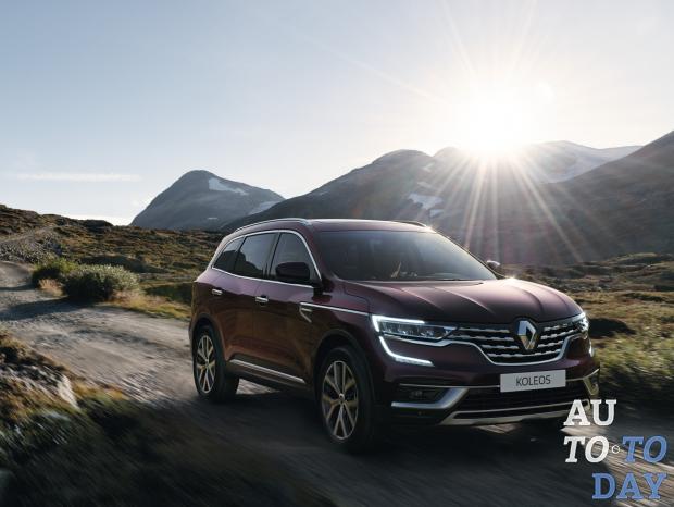 Renault начинает продажи обновленного Koleos